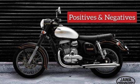 Jawa Bikes Positives Negatives