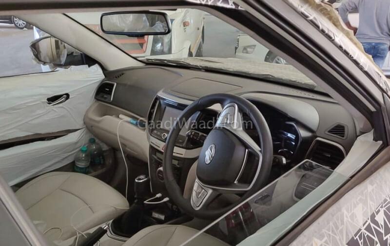 Mahindra S201 Interior Leaked