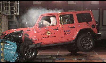 New Jeep Wrangler Euro NCAP