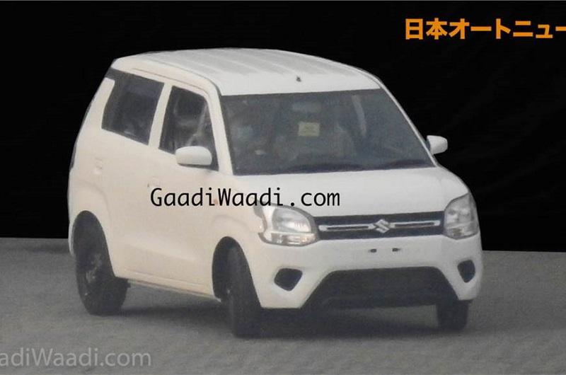 New Maruti Wagon R Spied