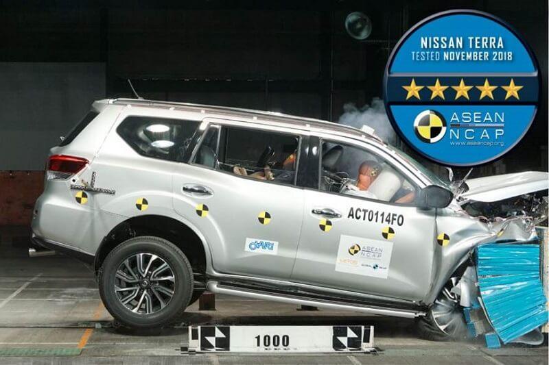 Nissan Terra ASEAN NCAP