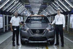 Nissan Kicks Production Begins