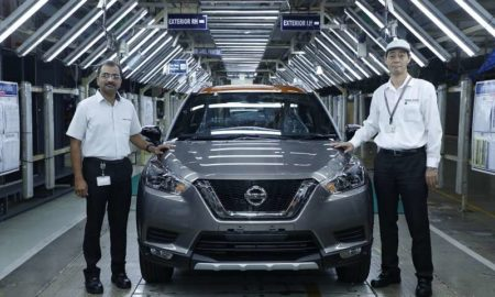 Nissan Kicks Production Begins