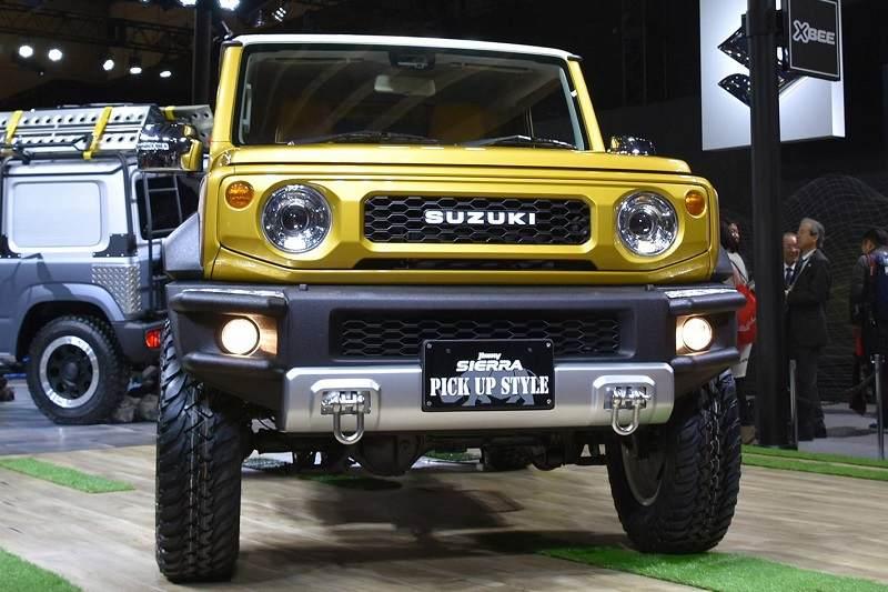 Suzuki Jimny Pickup Style Details