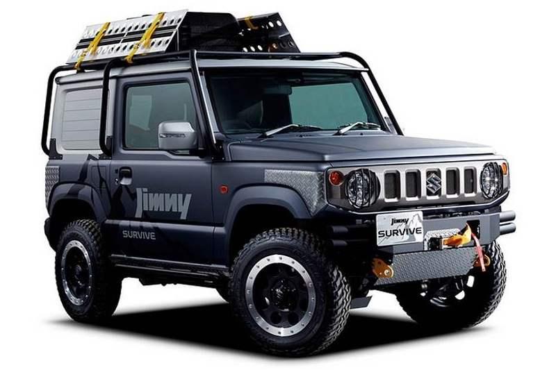 Suzuki Jimny Survive off-road concept revealed