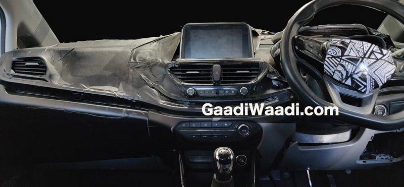Tata 45X Interior Leaked