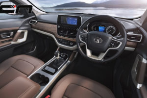 Tata Harrier Interior