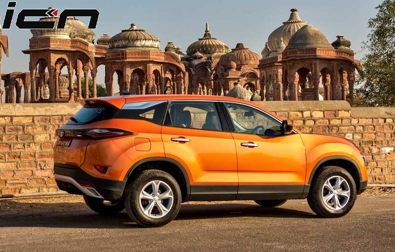 Tata Harrier Side Reveal