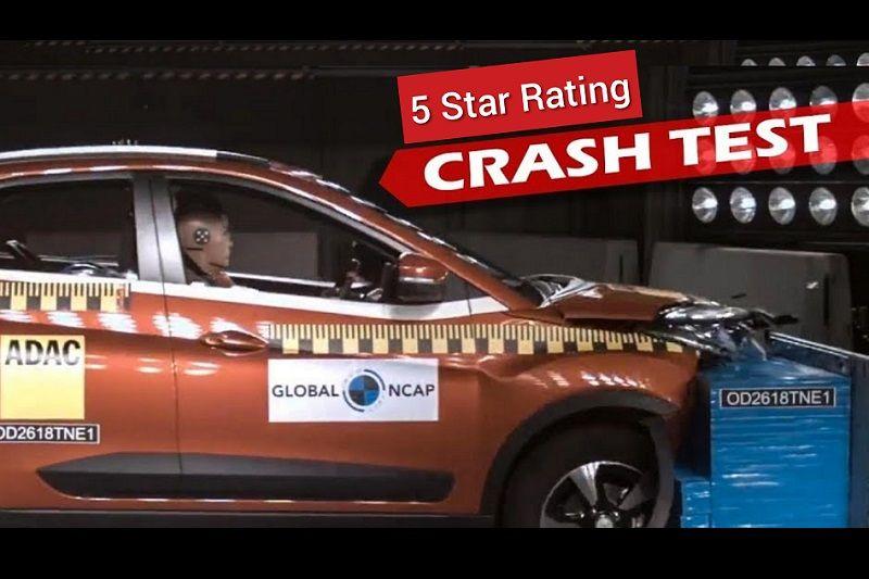 Tata Nexon Global NCAP 5 Stars