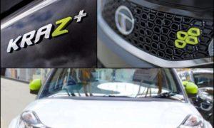 Tata Nexon Kraz Calgary White Edition