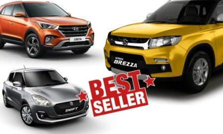 Top 10 Selling Cars November