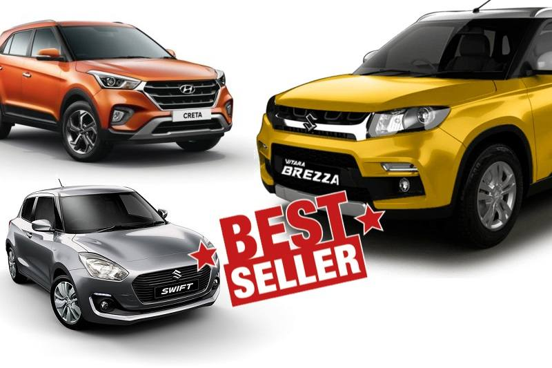 Top 10 Selling Cars November