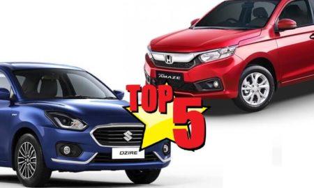 Top 5 Compact Sedan