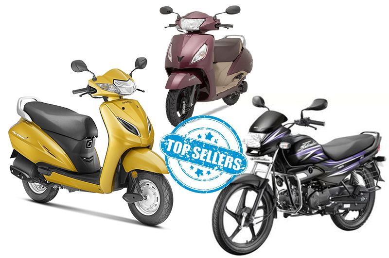Top Selling Bikes & Scooters
