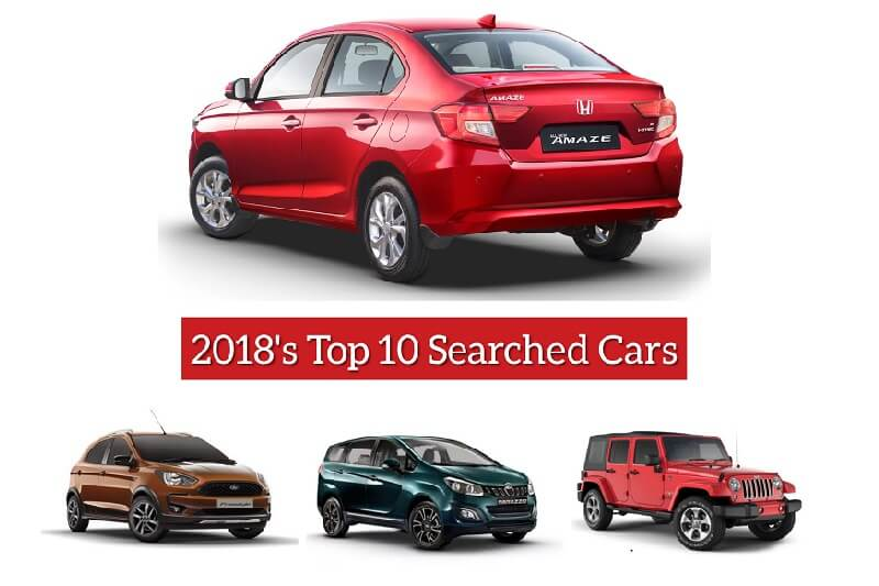 top 1o most searched cars