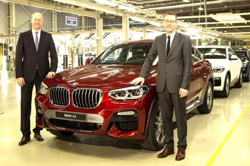 2019 BMW X4 India