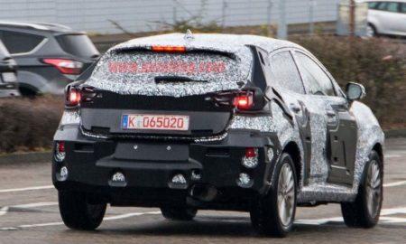 Ford Fiesta Crossover Spied rear