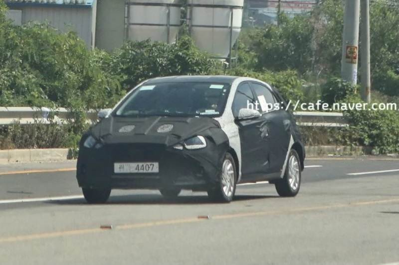 New Hyundai Grand i10 2019 Spied