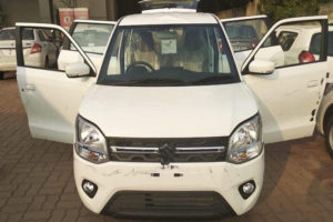 New Maruti Wagon R Spied Front