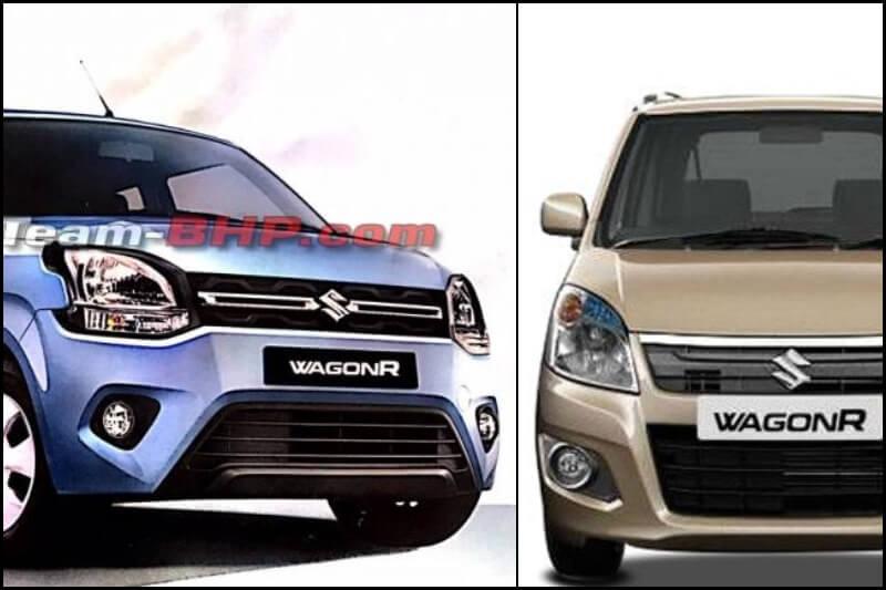 New Maruti WagonR 2019 Vs Old WagonR