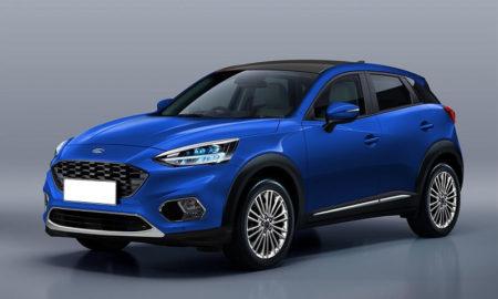 Next-gen Ford EcoSport Rendering