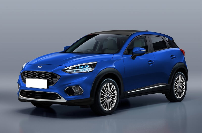 Next-gen Ford EcoSport Rendering