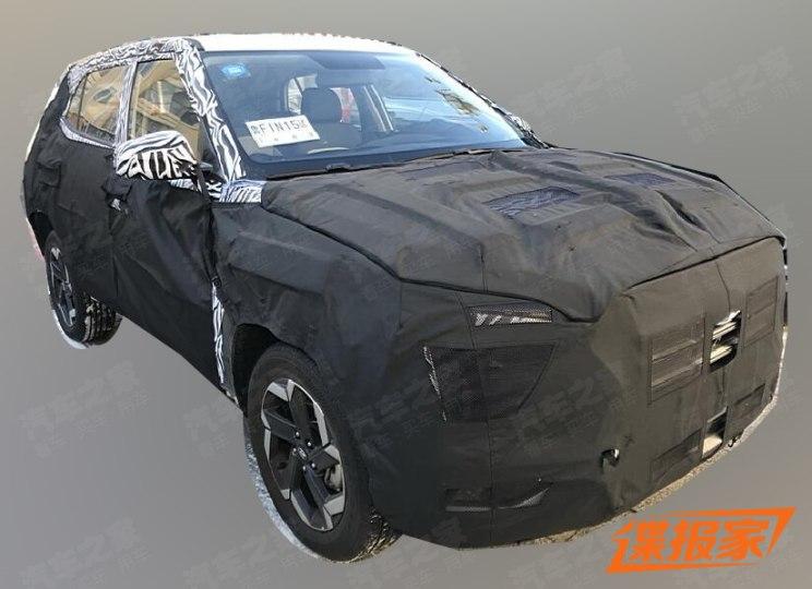 Next-gen Hyundai Creta Spied
