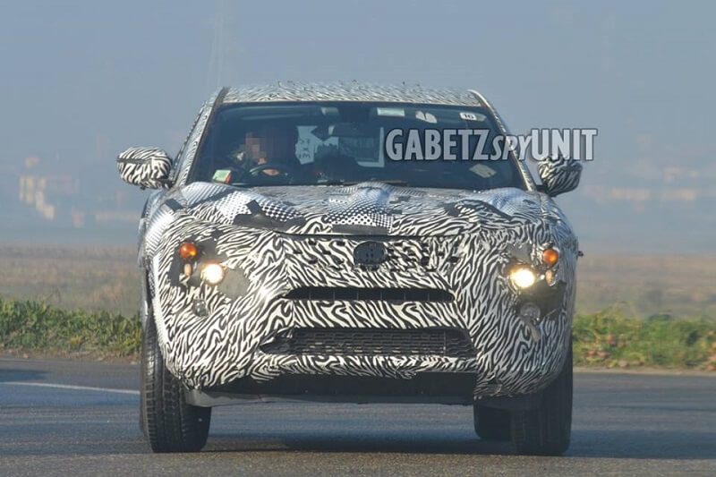 Tata H7X 7-seater SUV Spied