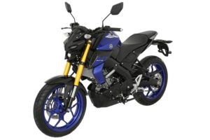 Yamaha MT-15 top-view