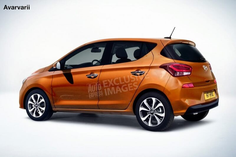 2019 Hyundai Grand i10 Rendering rear (1)
