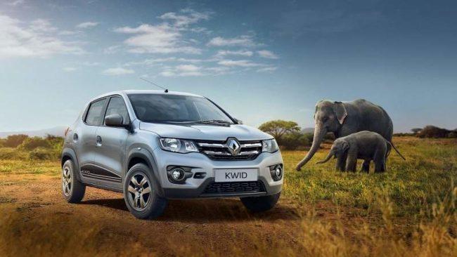 2019 Renault Kwid India front