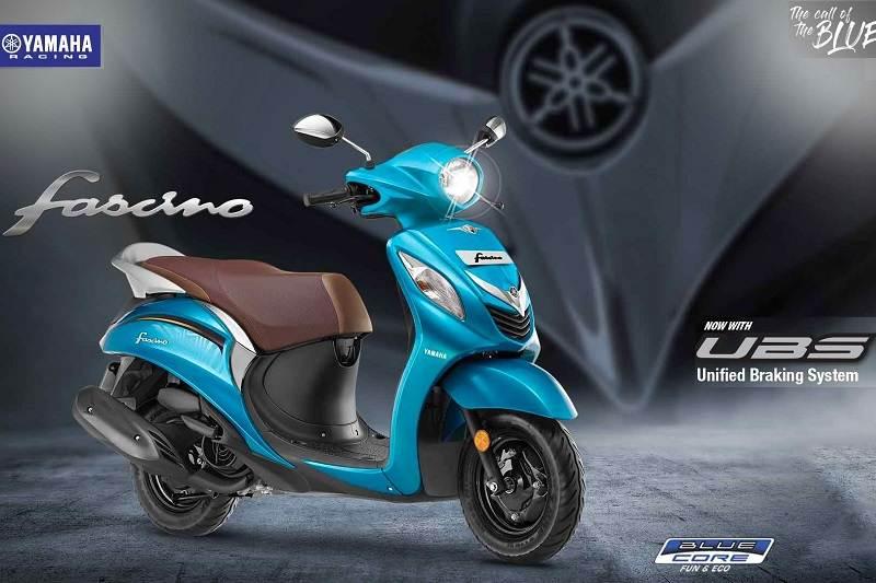 2019 Yamaha Fascino