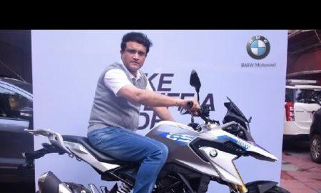 BMW G 310 GS Sourav Ganguly