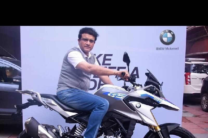 BMW G 310 GS Sourav Ganguly