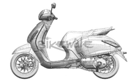 Bajaj Urbanite Scooter Design