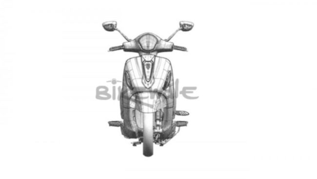 Bajaj Urbanite Scooter Front