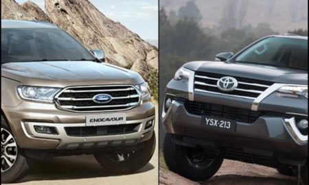 Ford Endeavour Vs Toyota Fortuner Price