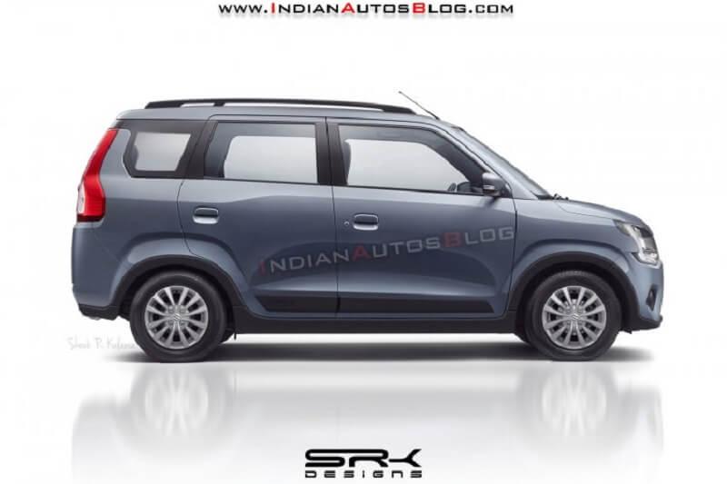 Maruti WagonR 7 Seater MPV Rendering
