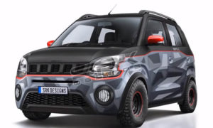 Maruti WagonR Cross Rendering (1)