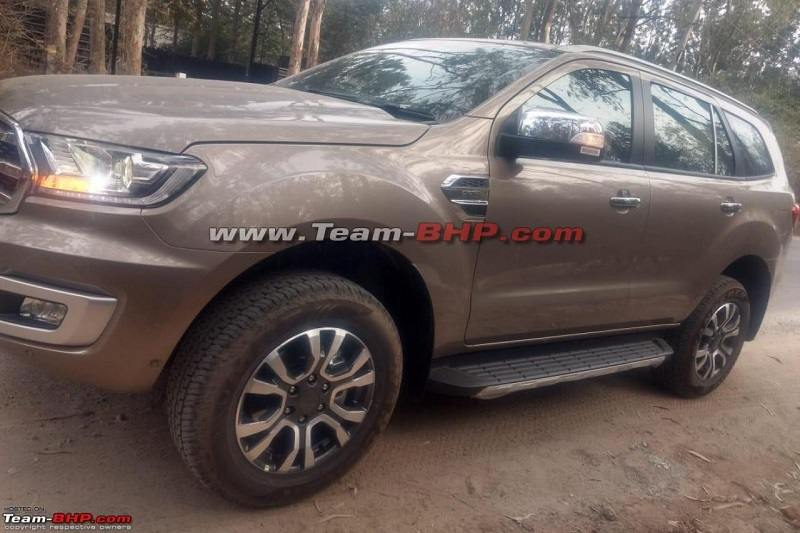 New Ford Endeavour 2019 Spied