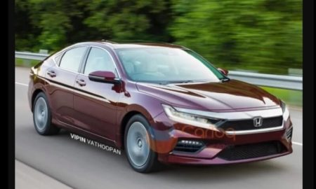 New Honda City 2020 Rendered