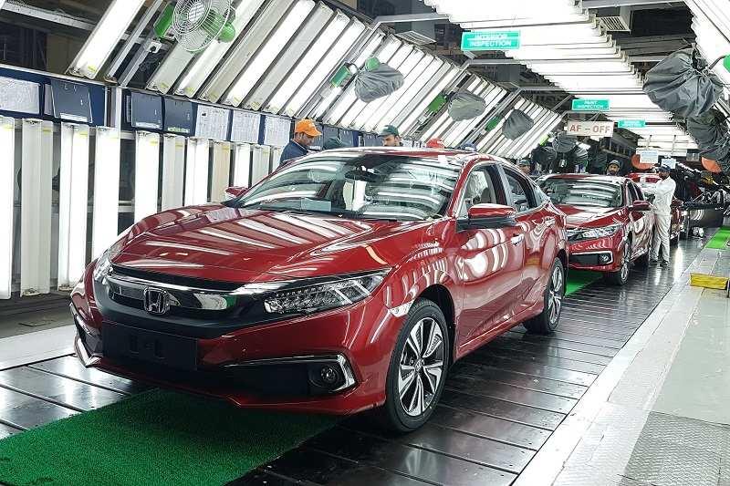 New Honda Civic 2019 Red