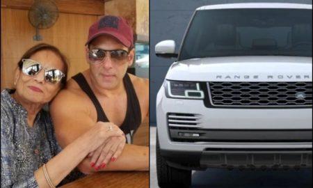 Salman Khan Range Rover