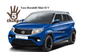 Tata Hornbill Mini SUV