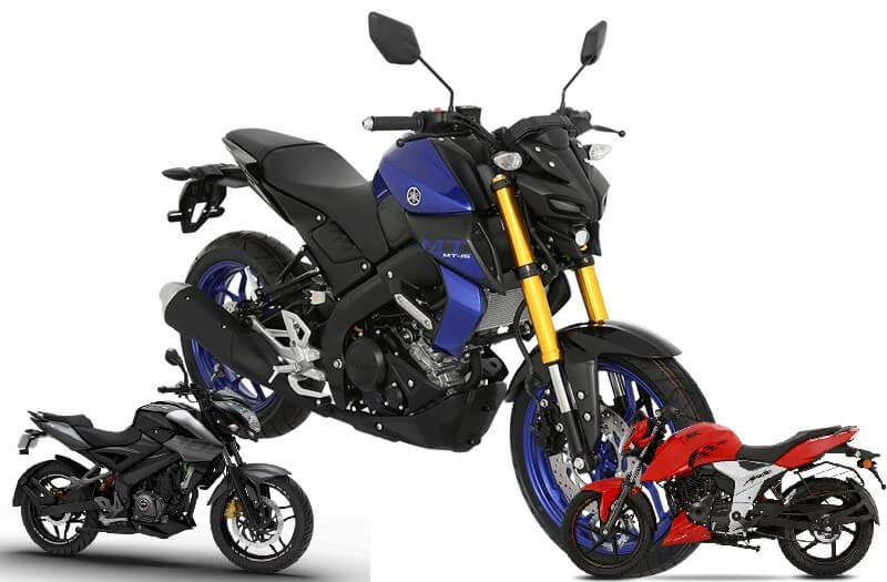 Yamaha MT-15 Vs Rivals