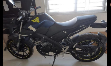 Yamaha MT 15 Spied India
