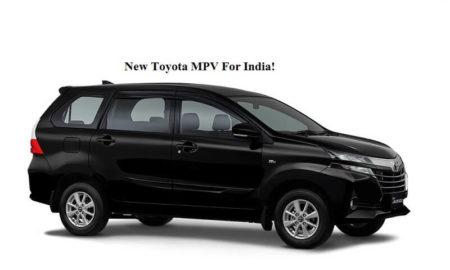 New Toyota MPV