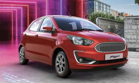 2019 Ford Figo facelift