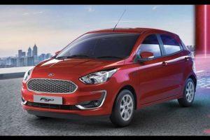 2019 Ford Figo facelift front