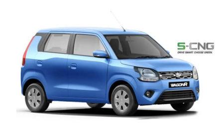 2019 Maruti WagonR S-CNG